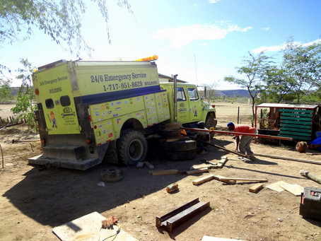 How to make a water truck…