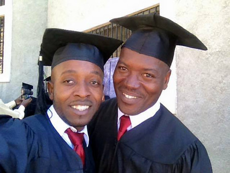 Foto Friday: Thony Graduated from Seminary!