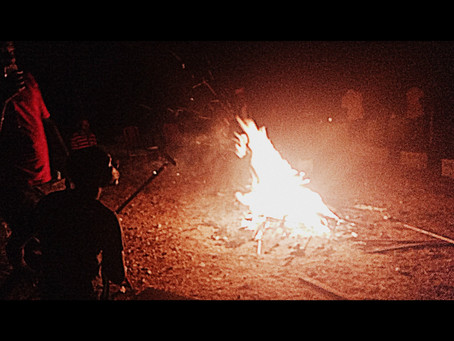 Foto Friday: Bonfire with the Youth!