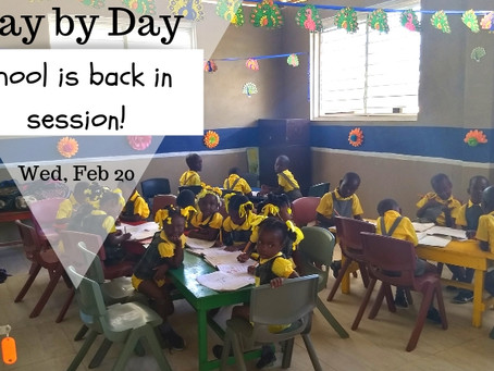 Day by Day: Wed, Feb 20