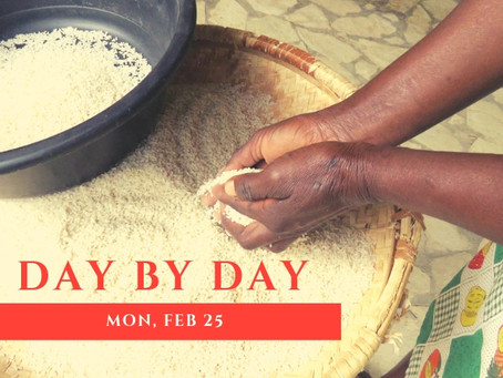 Day by Day: Mon, Feb 25