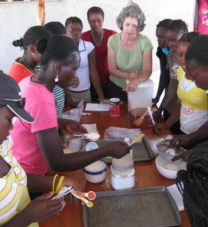 Girls Camp… Cooking