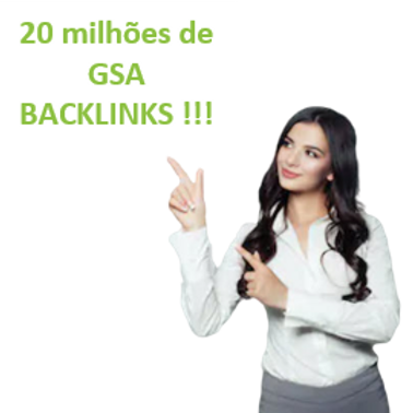 20.000 BACKLINKS GSA para obter ranking rápido no Google