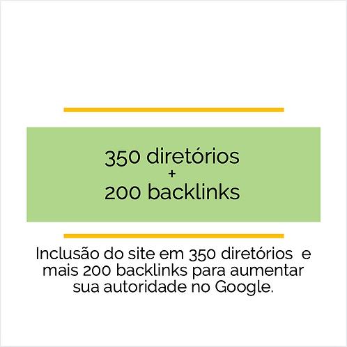 350 diretórios - Cadastre seu site + backlinks