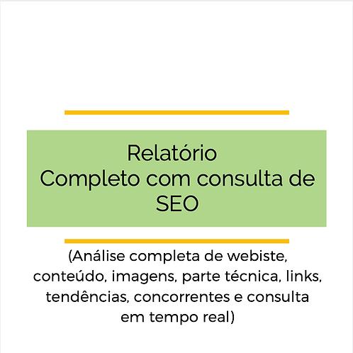 Relatório SEO Performance & Consulta On-line