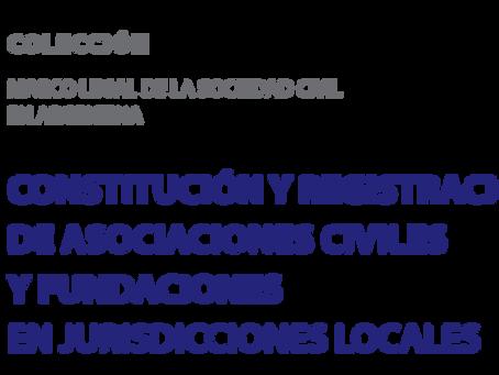 Investigación sobre la constitución y regulación de las OSC