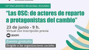 Te esperamos en el 10° Encuentro de Organizaciones Sociales