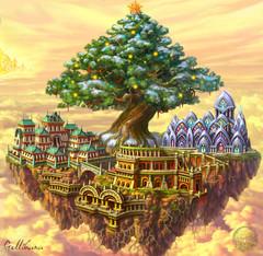 Новогодний остров