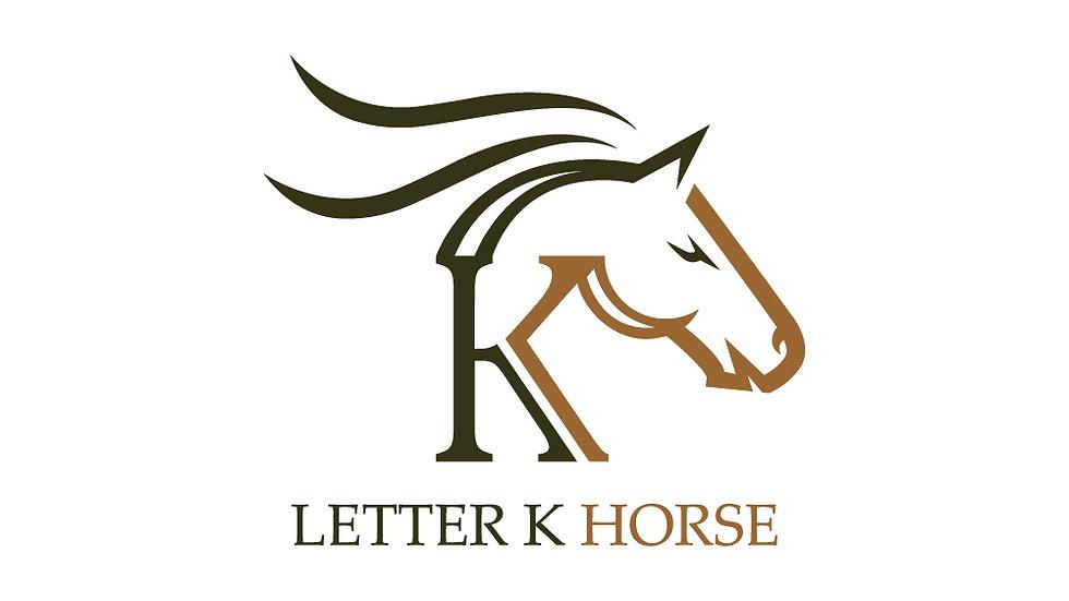 Letter K Horse