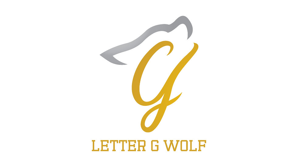 Letter G Wolf