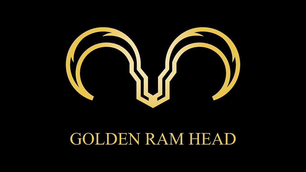Golden Ram Head