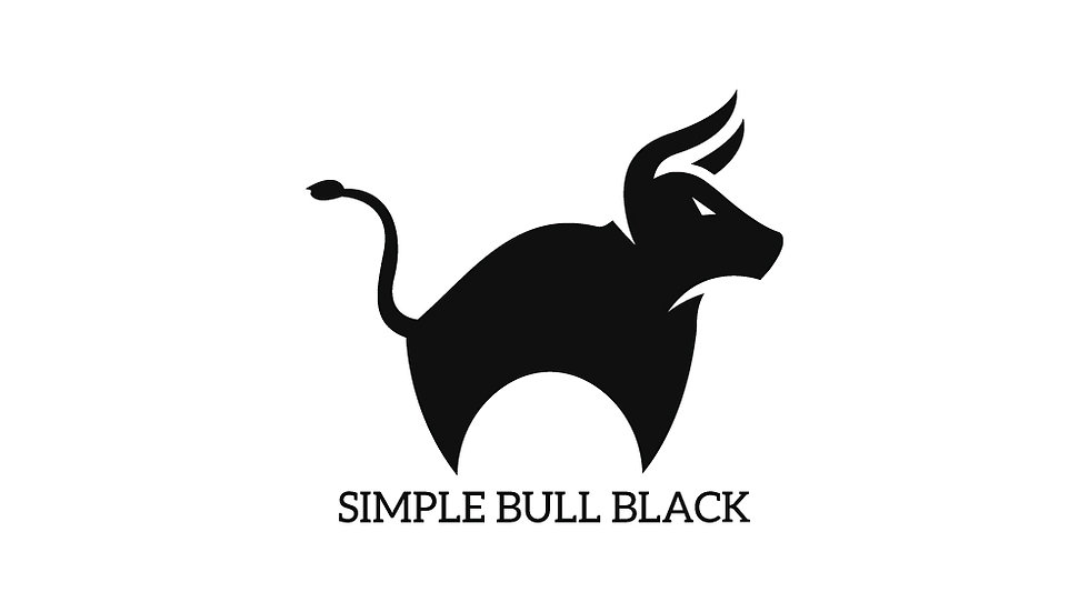 Simple Bull Black