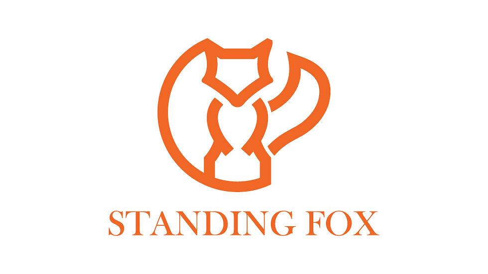 Orange Standing Fox