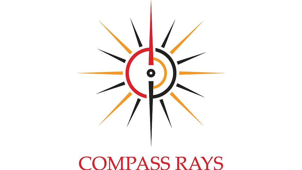 Compass Sun Rays