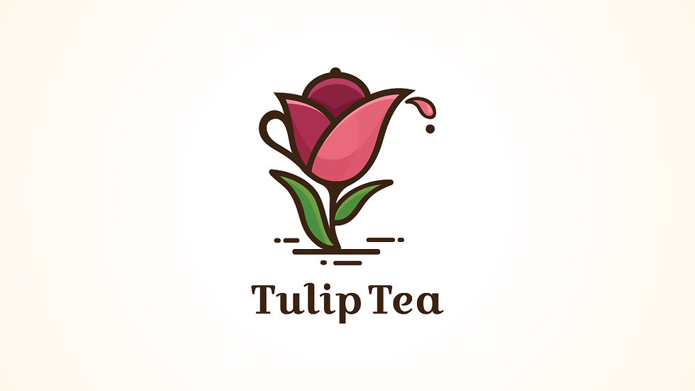 Tulip Tea Pot