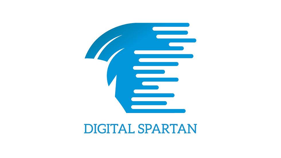 Digital Spartan Helmet
