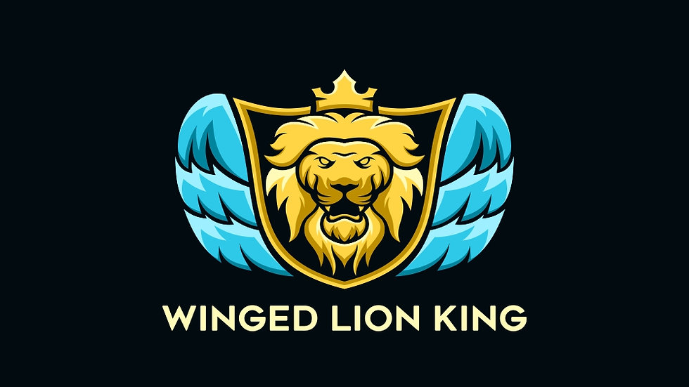 Winged Lion King