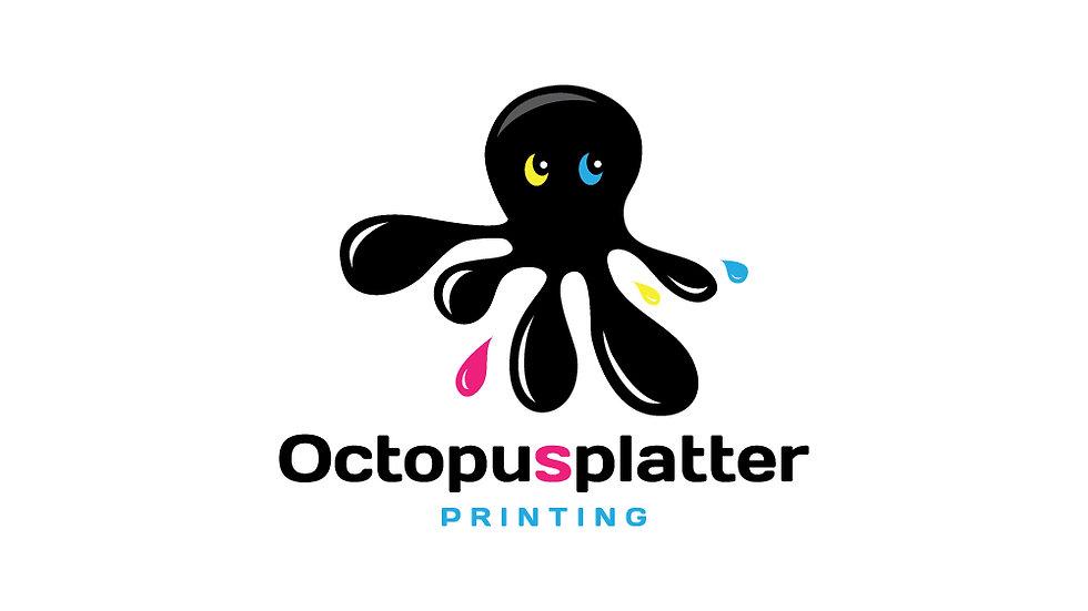 Octopus Splatter Printing