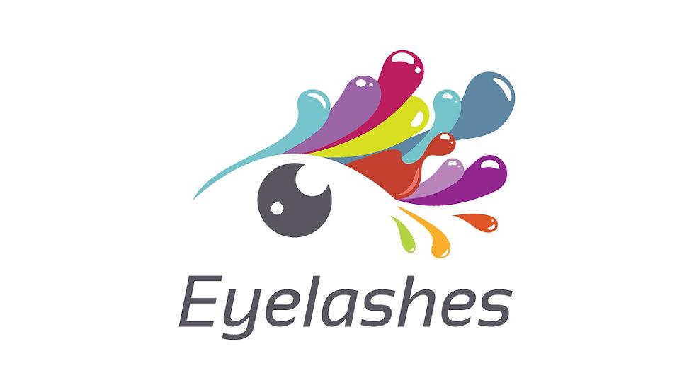Eyelashes Painting