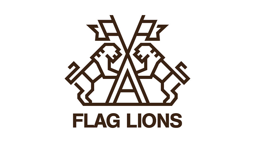 Flag Lions