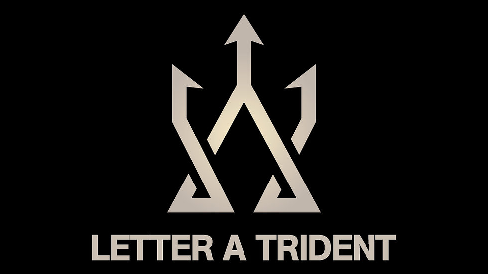 Letter A Trident