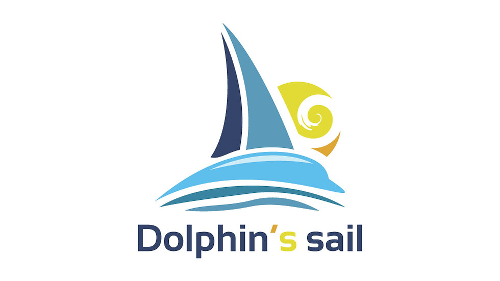 Dolphin Sailing Boat