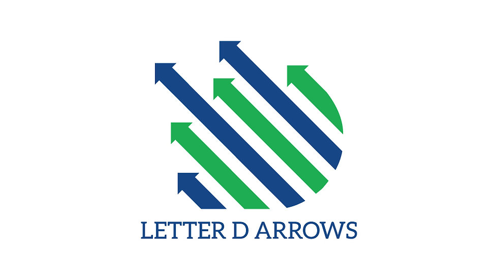 Letter D Arrows