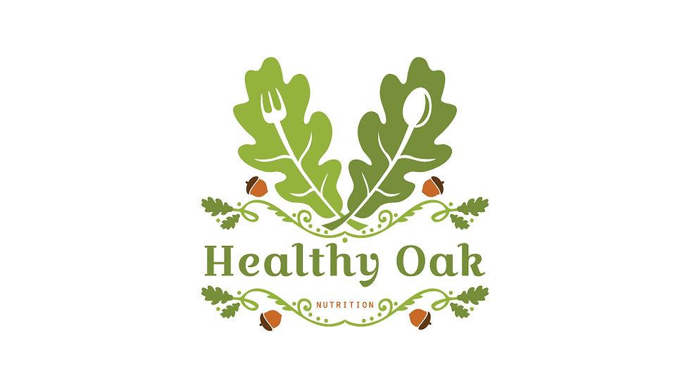 Healthy Oak Leaves