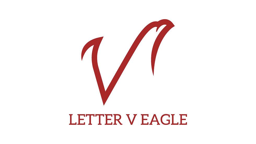 Letter V Eagle