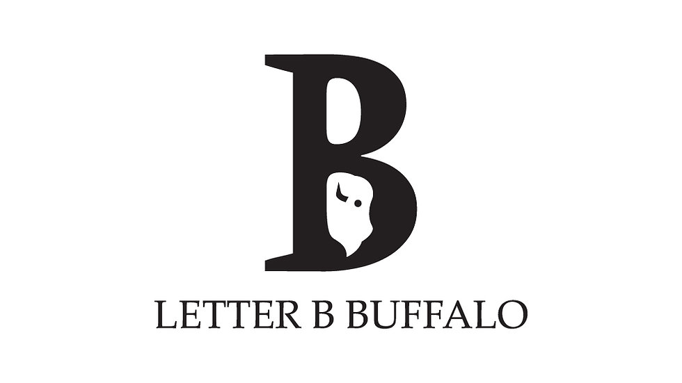 Letter B Bison Buffalo