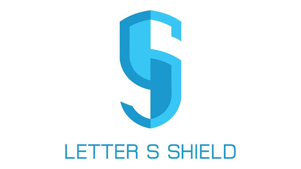 Letter S Shield