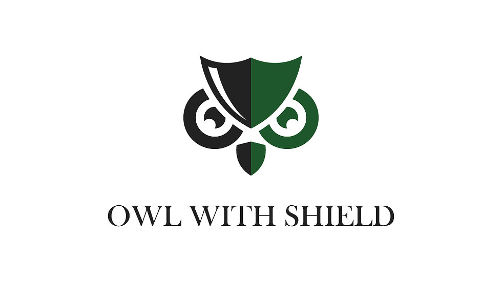 Owl With Shield