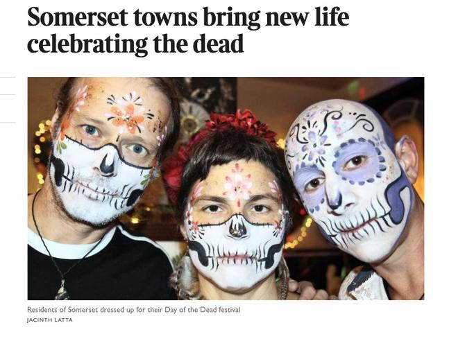 Somerset's Día de Los Muertes
