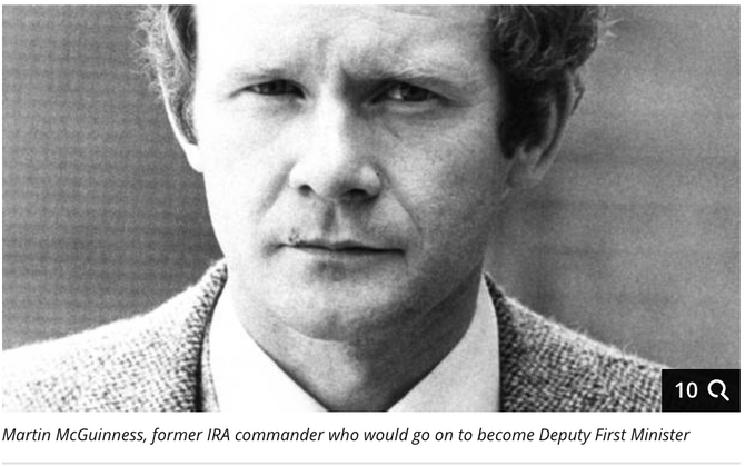 When Margaret Thatcher became Prime Minister in May 1979, Martin McGuinness promised her a 'long