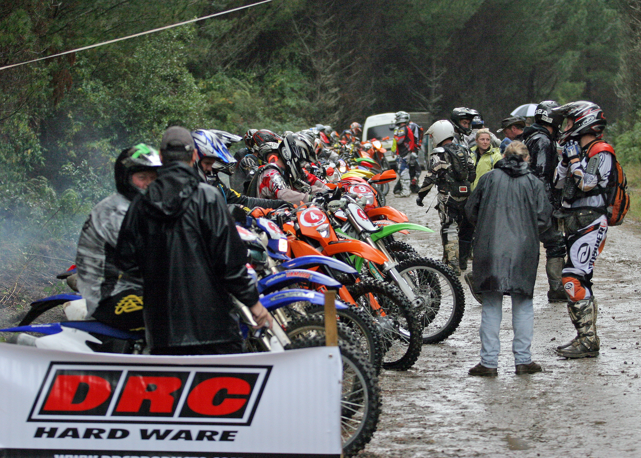 The start of the Rut 100