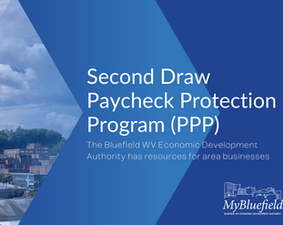 City of Bluefield WV has Resource for Second Draw PPP