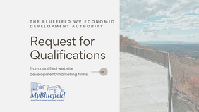 Request for qualifications: Bluefield EDA seeking qualified firms for Website Development Program