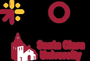 MOBI logo, Santa Clara University logo
