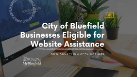 Applications open for 'MyBluefield Website Development Program' as part of COVID-19 recovery