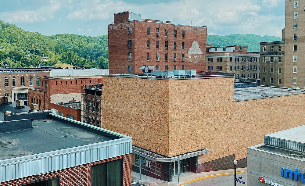 view of a west virginia downtown settings
