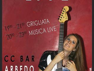 ACOUSTIC LIVE @ CC BAR - ARBEDO