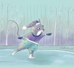 Mouse SKate