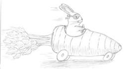 Bunny Veggie Race
