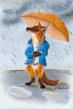Rainy Day Fox