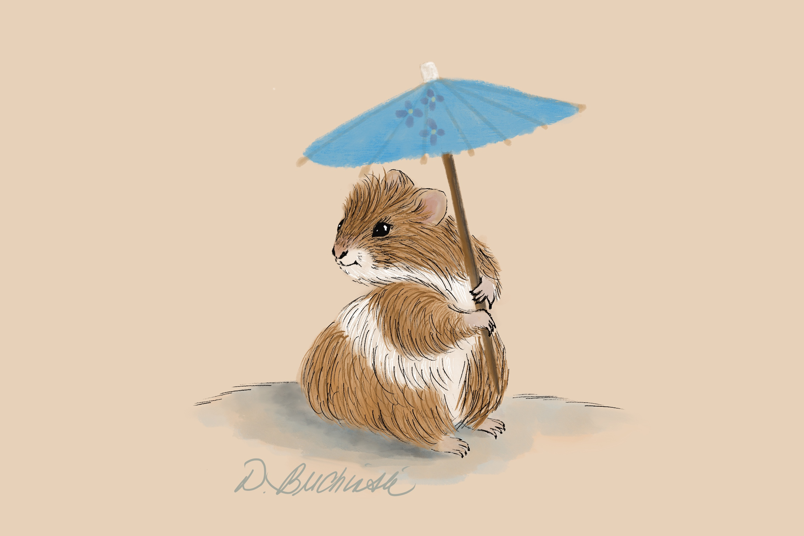 Hamster in the Shade.JPG