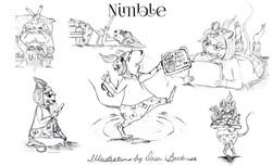 Nimble Character Illustrations