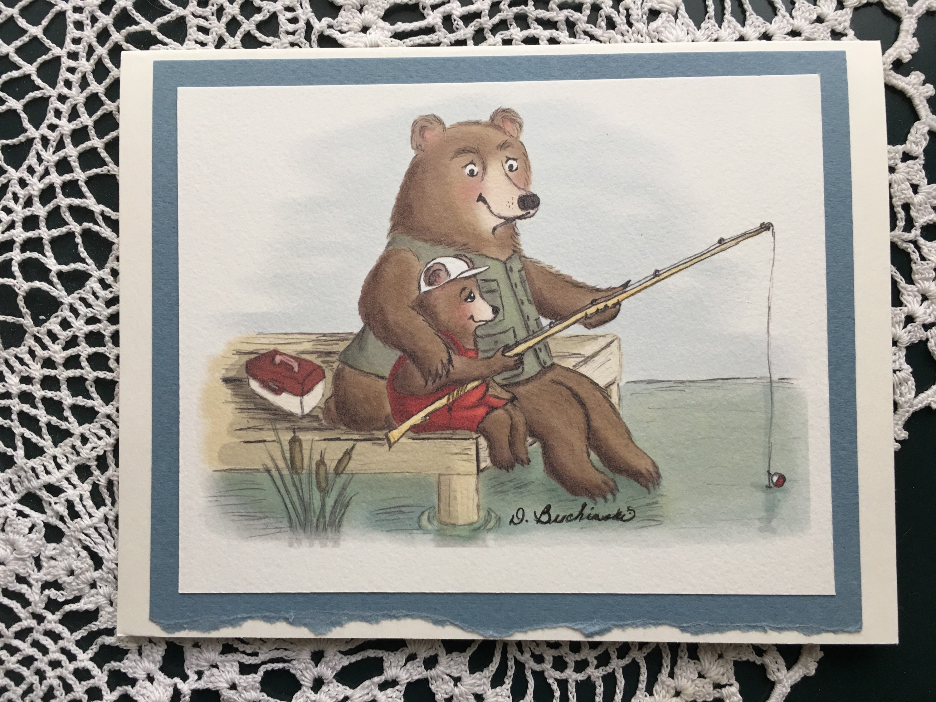 Fishing Bear Pair