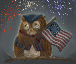 Independence Owl