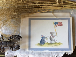 Mouse, Flag and Friend