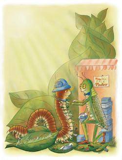 Shoe-Shopping Centipede